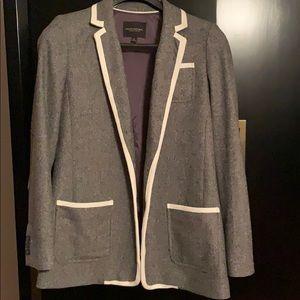 Banana Republic Hacking Jacket in Grey